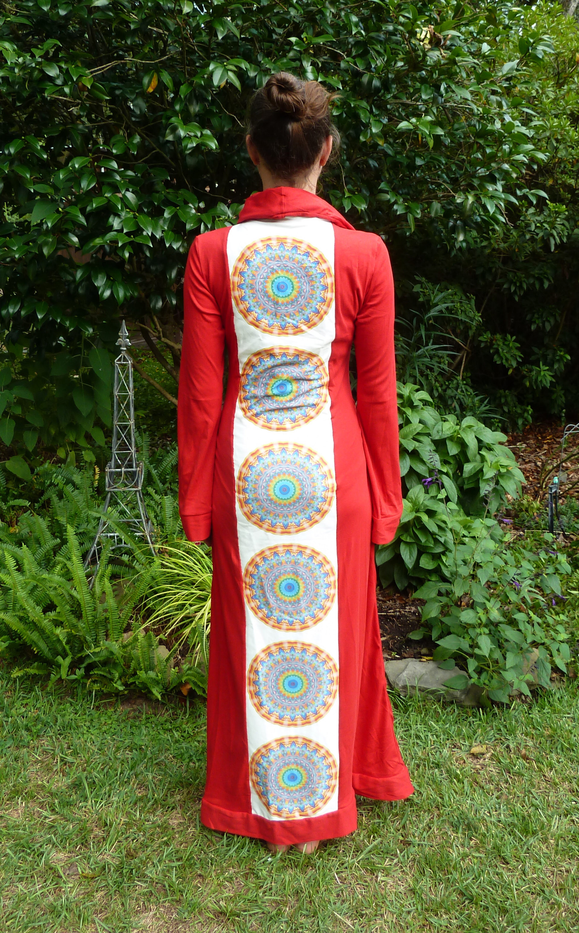 Red Kaleidoscope Robe #1