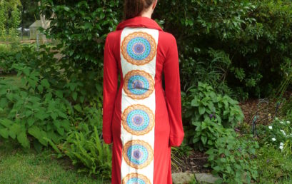 Red Kaleidoscope Robe #2