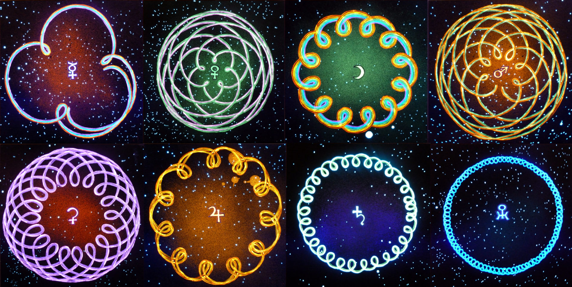 Dance of the Solar System